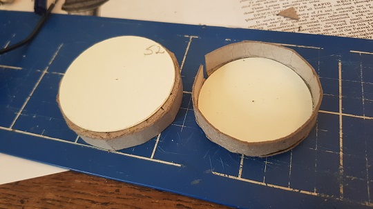 Forming the lens cap body